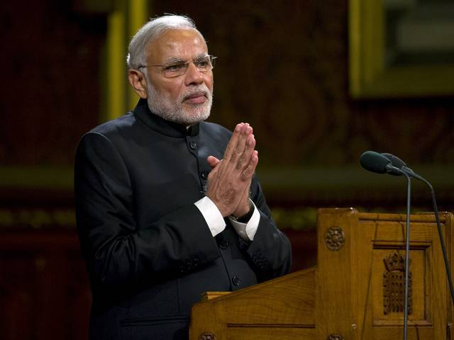 Indian PM Narendra Modi PHOTO: REUTERS
