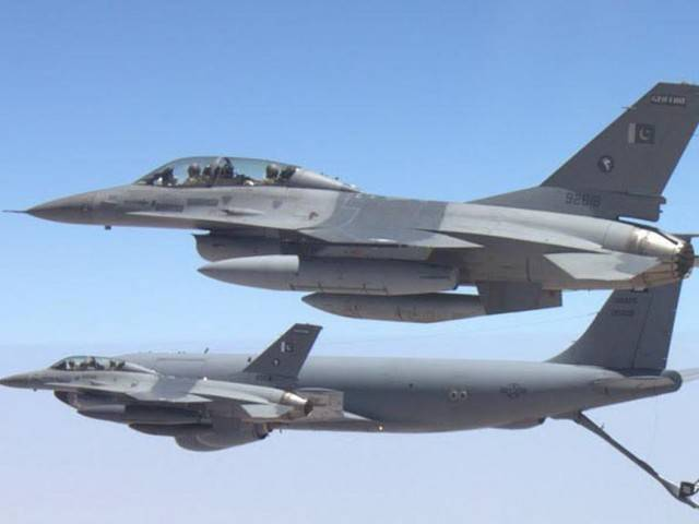 A file photo of PAF F16. PHOTO: PPI