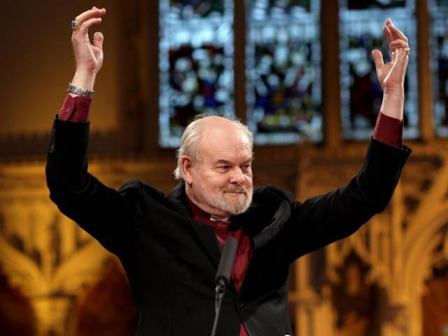 The Bishop of London, the Rt Rev Richard Chartres said beards were a new way for vicars to engage with the majority culture of their parishes. PHOTO: GETTY IMAGES
