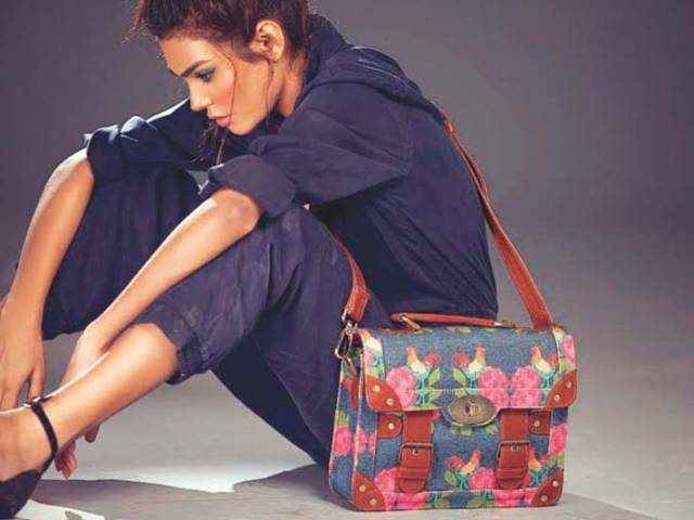 Hussain's agenda is to market her collection online. PHOTO: PUBLICITY