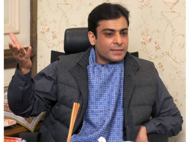 Pakistan Muslim League-Nawaz central leader Hamza Shahbaz. PHOTO: EXPRESS