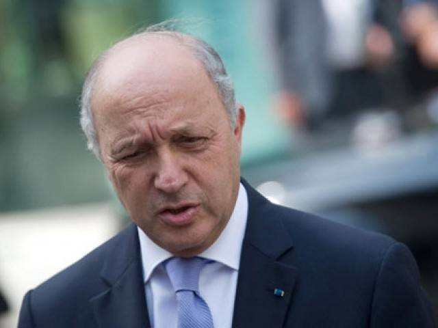 French Foreign Minister Laurent Fabius. PHOTO: AFP