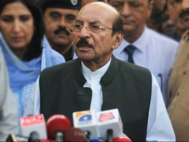 Sindh Chief Minister Qaim Ali Shah. PHOTO: EXPRESS