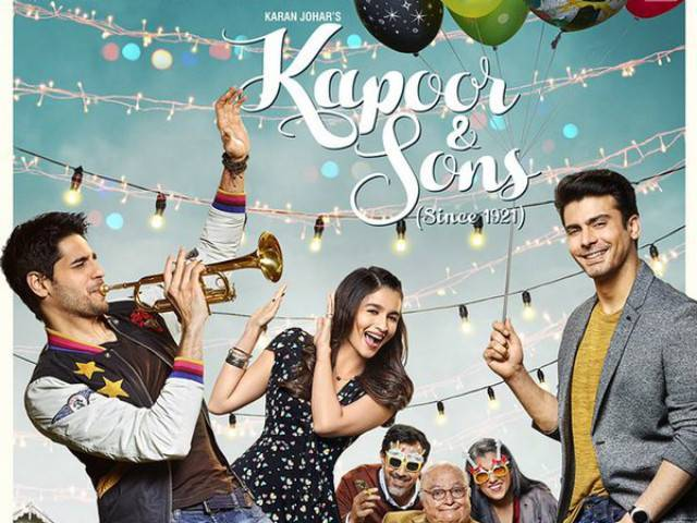 KJo took to Twitter to unveil poster of upcoming film. PHOTO: TWITTER