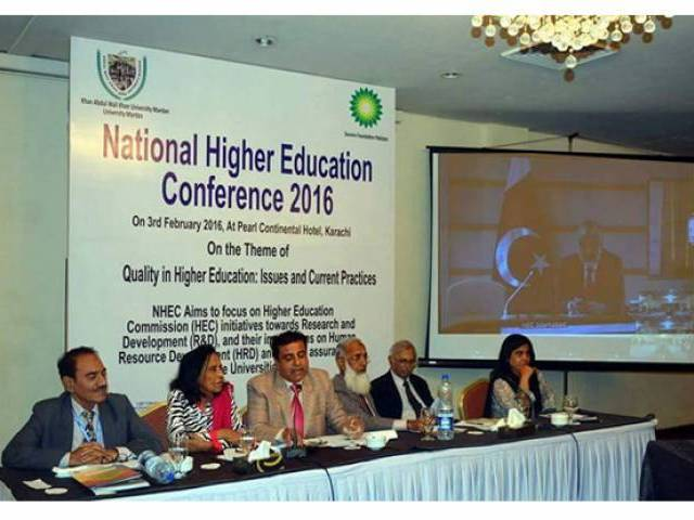 Participants speak about role of higher education institutions. PHOTO: fb.com/AWKUM