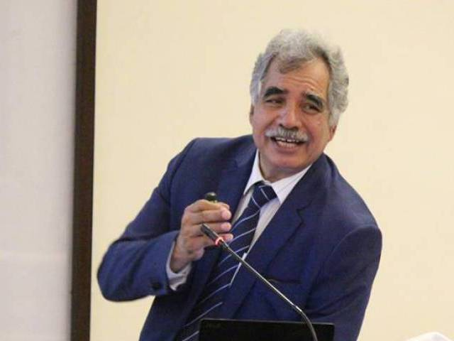University of Lahore Department of Surgery chairman and Cancer Centre director Arshad Cheema. PHOTO: FILE