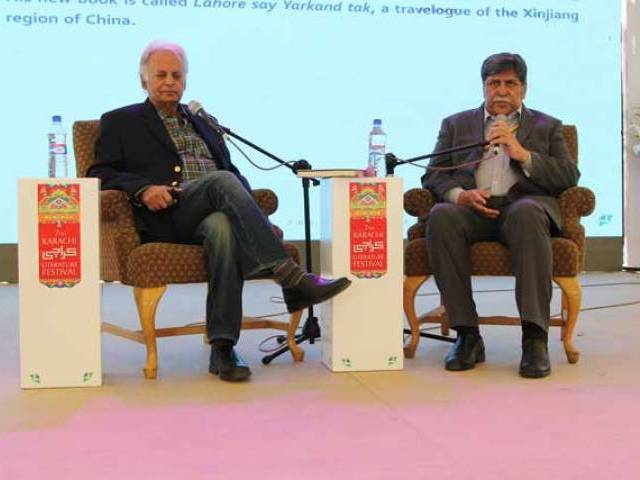 Mustansar Hussain Tarar. PHOTO: EXPRESS/ AYESHA SALEEM