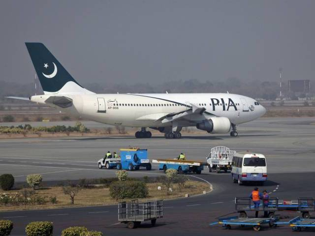 Two flights of national airline carrying 725 Umra pilgrims from Jeddah have reached Islamabad airport. PHOTO: REUTERS