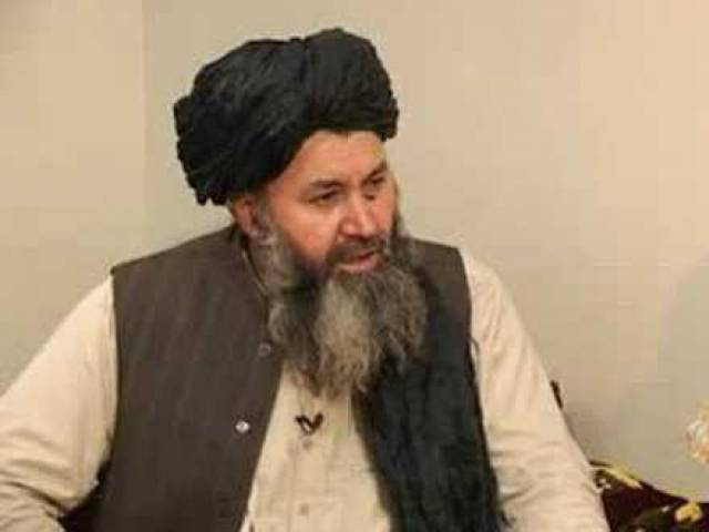 A file photo of Mullah Hasan Rehmani.