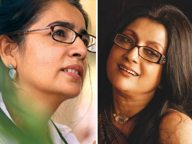 Sabiha Sumar and Aparna Sen