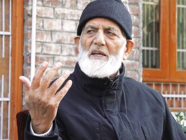 Syed Ali Gilani. PHOTO: AFP/FILE