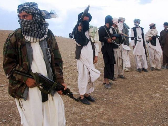 A file photo of the Afghan Taliban. PHOTO: AFP