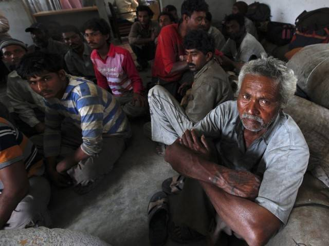 PFF says fishermen including three teenagers were apprehended from Pakistani waters.PHOTO: REUTERS