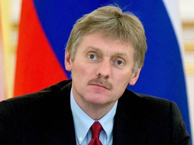 Kremlin spokesperson Dmitry Peskov PHOTO: REUTERS