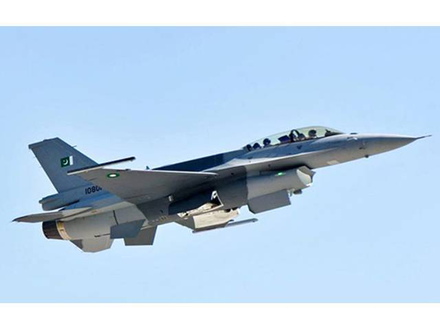 A file photo of F-16 jet fighter.