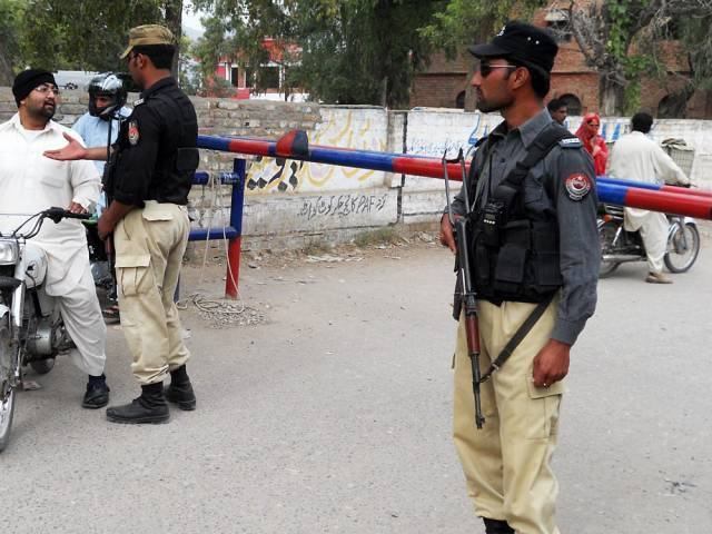 Police team identified three residents of Jacobabad as the main facilitators of the suicide bomber. PHOTO: ONLINE