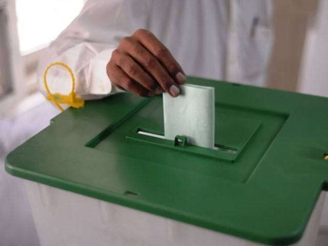 A petition had challenged polling in the provinces using estimates and proportional representation. PHOTO: AFP