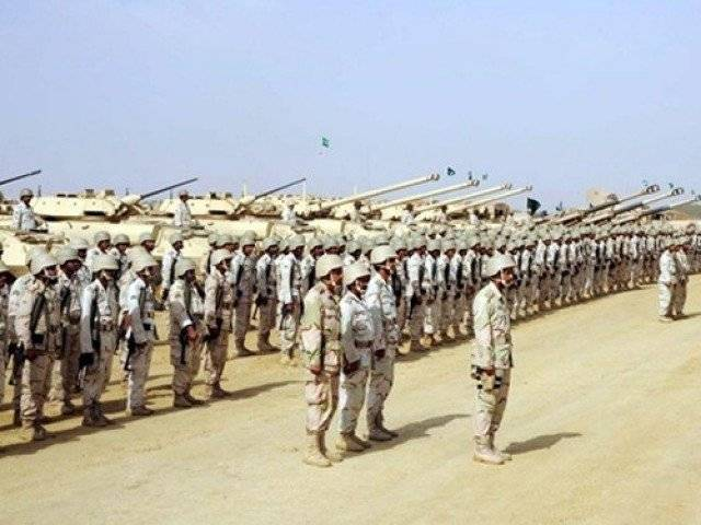 A file photo of Saudi military exercise. PHOTO COURTESY: WORLD TRIBUNE