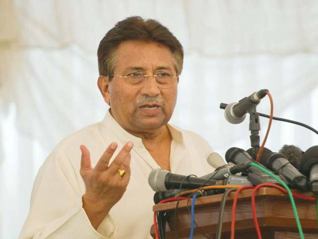 Pervez Musharraf. PHOTO: FILE