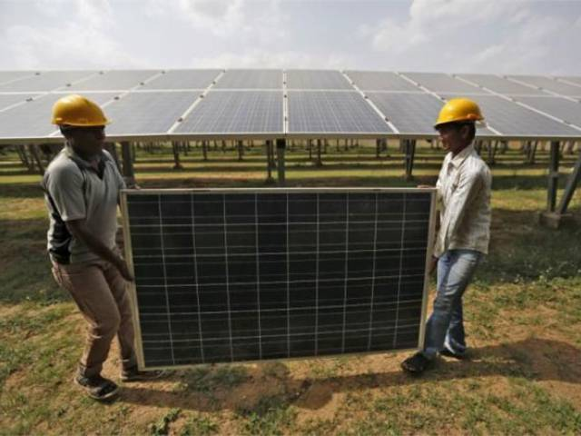Washington claimed that India's national solar power program illegally discriminated against imported solar panels. PHOTO: REUTERS