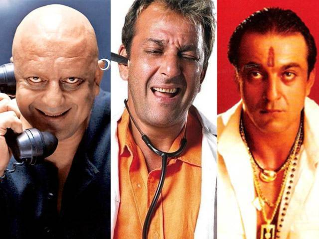 Sanjay Dutt in different roles