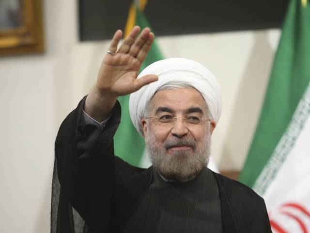 Iran's President Hassan Rouhani. PHOTO: REUTERS