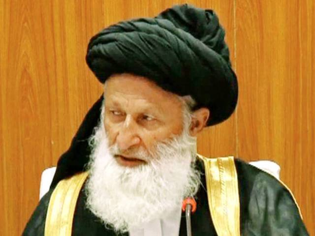 Chairman Council of Islamic Ideology, Maulana Muhammad Khan Sheerani. PHOTO: FILE