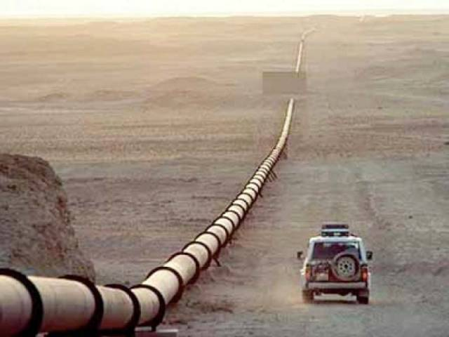 A gas sales and purchase agreement had been signed in 2013 that set the pricing mechanism under which gas price at the Turkmenistan border would be around 20% lower than the Brent crude price. PHOTO: FILE