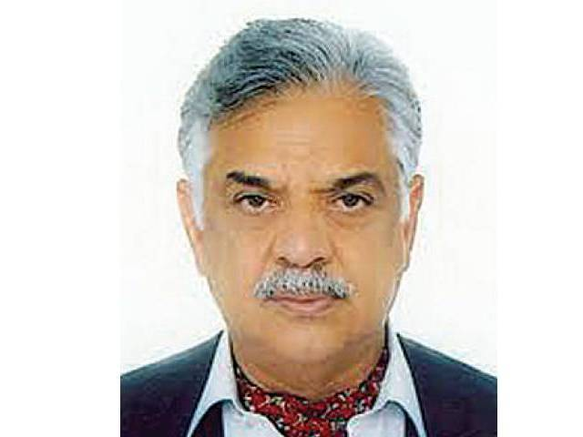 Iqbal Zafar Jhagra PHOTO: FILE