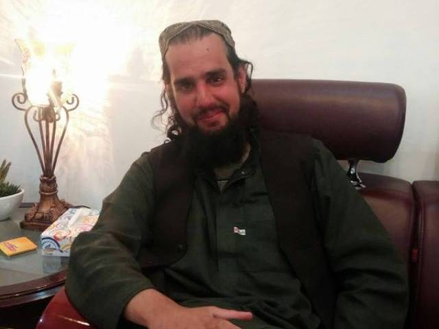 Shahbaz Taseer's latest photo taken in Quetta on March 8, 2016. PHOTO: ISPR