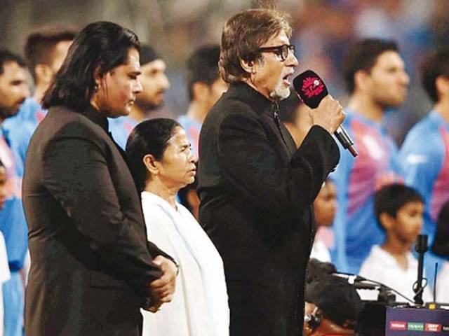 Amitabh was accused of taking more than the mandated time to sing the anthem. PHOTO: PUBLICITY