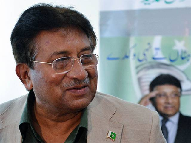 A file photo of former president Pervez Musharraf. PHOTO: AFP