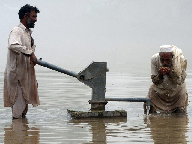 water scarcity biggest threat to the express tribune
