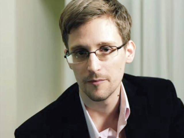 A file photo of Edward Snowden. PHOTO: REUTERS