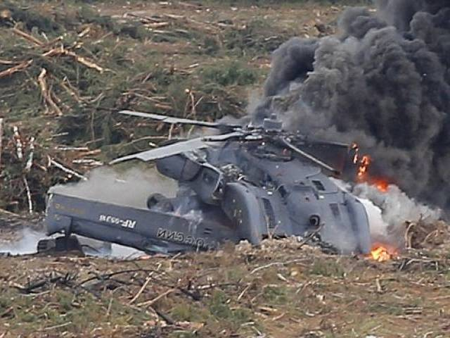 Image result for Russian military helicopter crashes, kills two in Syria