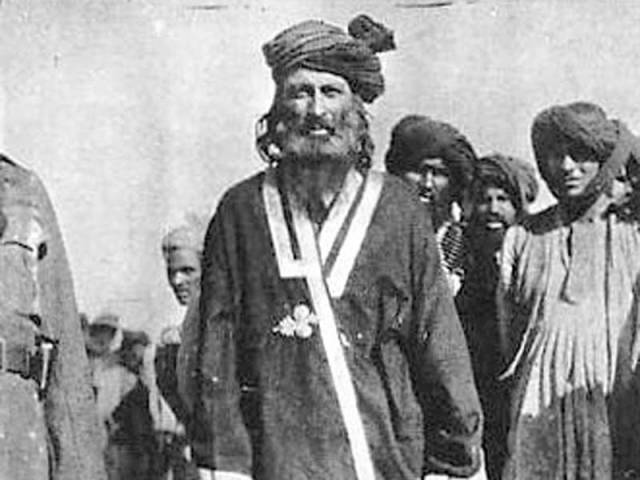 Mirza Ali Khan became elusive resistance leader, master of guerrilla warfare over matter of forced conversion . PHOTO COURTESY: ICONICPHOTOS.WORDPRESS