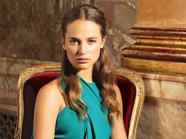 Alicia won an Oscar for her role in The Danish Girl. PHOTO: FILE