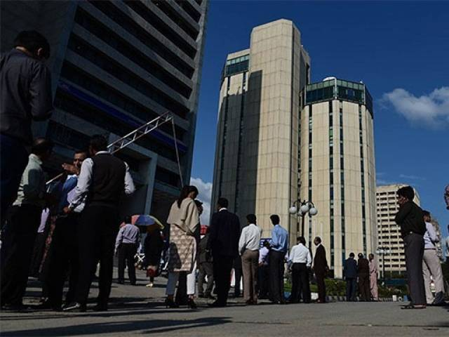 According to finance minister, Pakistan focuses on growth and jobs despite security challenges. PHOTO: AFP
