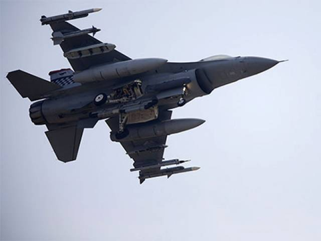 F-16 Fighter jets. PHOTO: REUTERS
