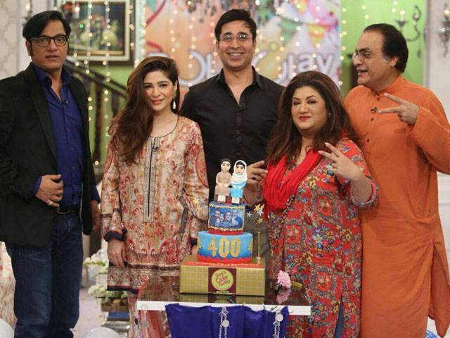 Bulbulay' cast celebrates 400 episodes - The Express Tribune