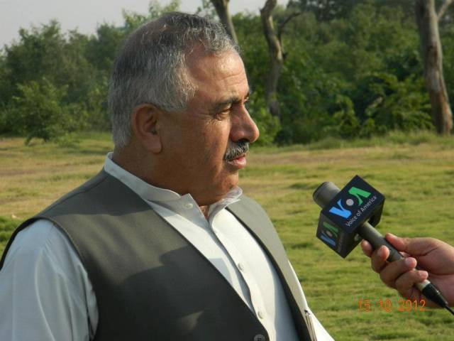 Balochistan Education Minister Abdul Rahim Ziaratwal. PHOTO: PMAP