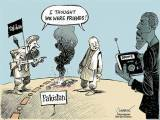 New York Times cartoon on the state of affairs following Mullah Mansour's death