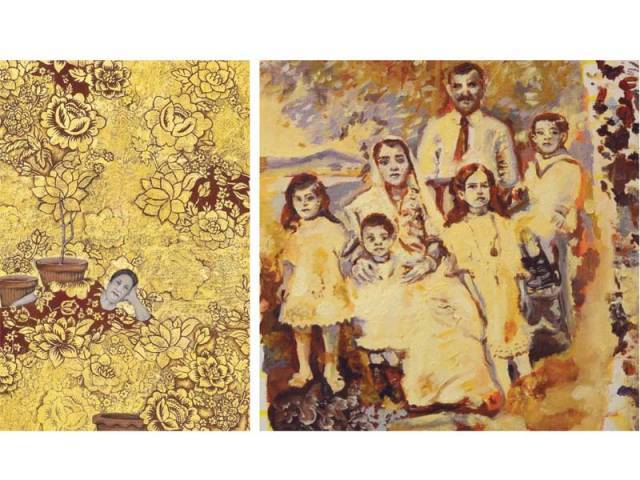 The artists portrayed subjects close to their hearts in their work, depicting their families, identities and thoughts. PHOTOS: COURTESY CANVAS GALLERY