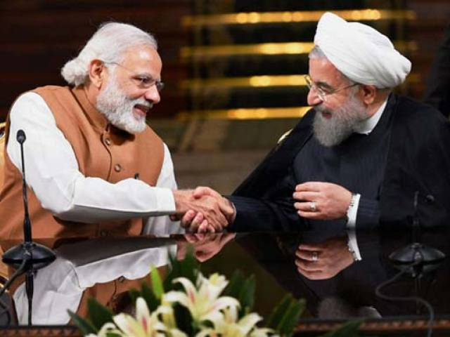 Corridor at Chabahar could bring down costs as well as time taken to transport cargo trade to Europe by 50 per cent Photo: PTI via NDTV