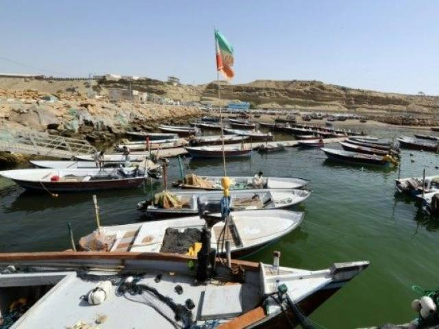Chabahar port. PHOTO: AFP