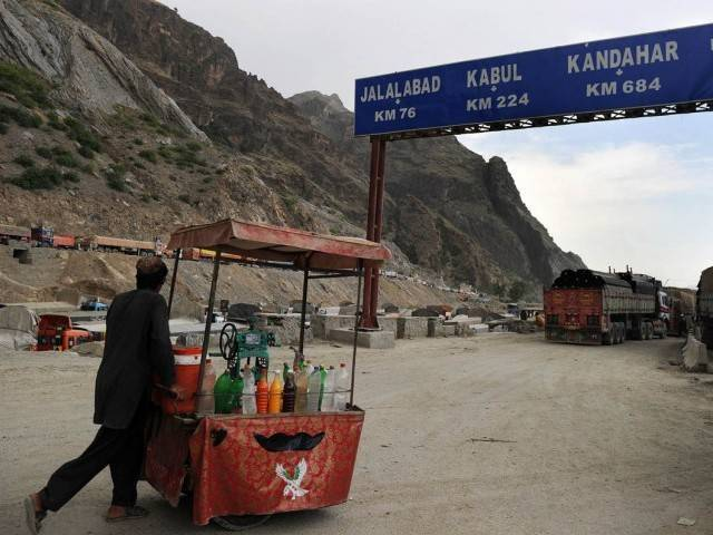 Torkham border. PHOTO: AFP