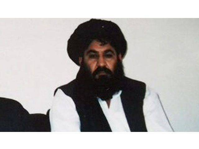 A file photo of Taliban chief Mullah Akhter Mansoor.