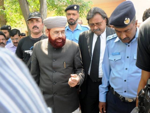 DG Hajj Rao Shakeel, former additional sec religious affairs Aftab Ahmed, sentenced to 40 and 16 years, respectively. PHOTO: EXPRESS/FILE