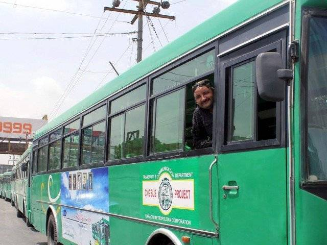Green Line bus to make Karachi less green | The Express Tribune