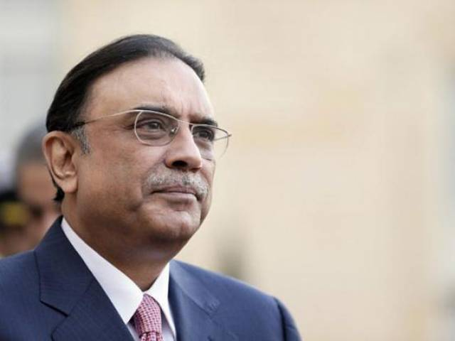Asif Zardari. PHOTO: FILE